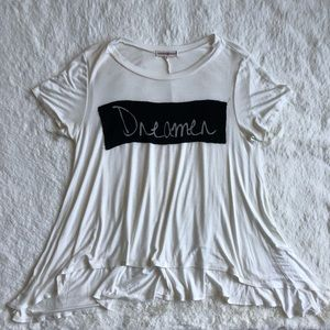 "Altar'd State ""dreamer"" graphic t shirt"
